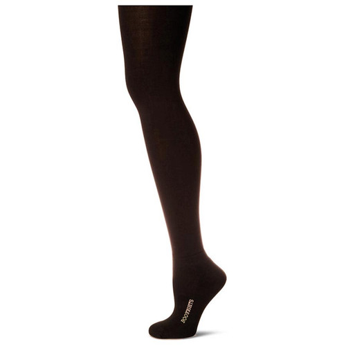 Bootights Core Essentials Semi-Opaque Tights - Chocolate - Side