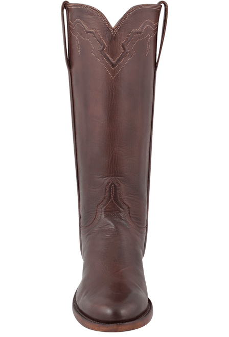 Lucchese Women's Whiskey Baby Buffalo Roper Boots - Front