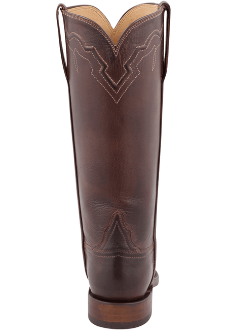 Lucchese Women's Whiskey Baby Buffalo Roper Boots - Back