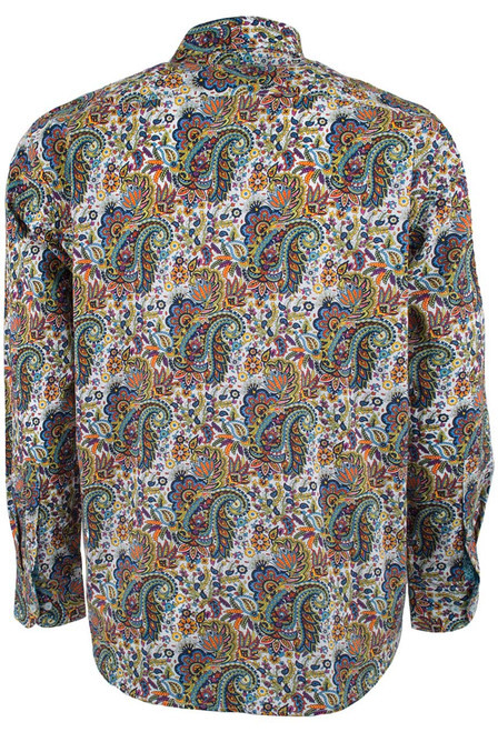 David Smith Australia Paisley Winner Shirt - Back