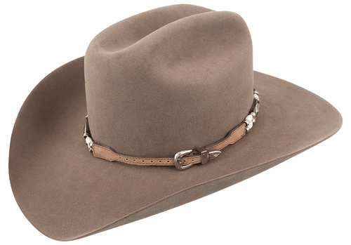 Leather and Bone Beaded Hat Band - Hero
