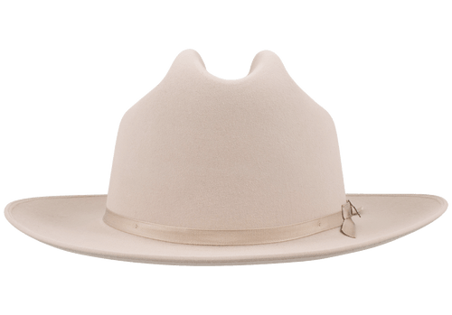 Stetson 6X Open Road Felt Hat - Silver Belly - Front