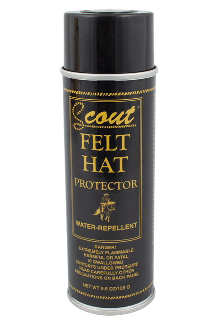 Scout Felt Hat Rain and Stain Protector