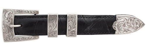 """Pinto Ranch Full Engraved 1"""" Buckle Set"""