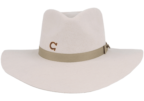 Charlie 1 Horse Highway Hat - Silver Belly - Front