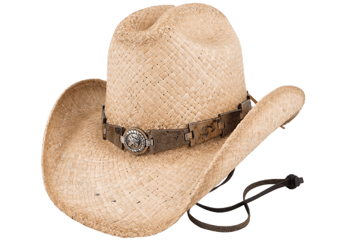 Bullhide Horse Play Natural Straw Hat - Hero