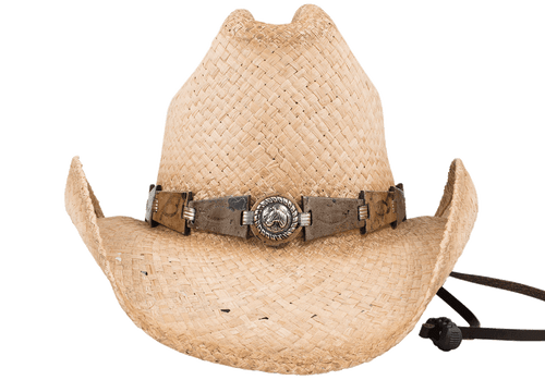 Bullhide Horse Play Natural Straw Hat - Front