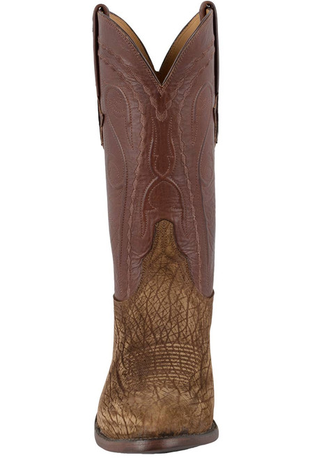 Lucchese Men's Tan Hippo Boots - Front