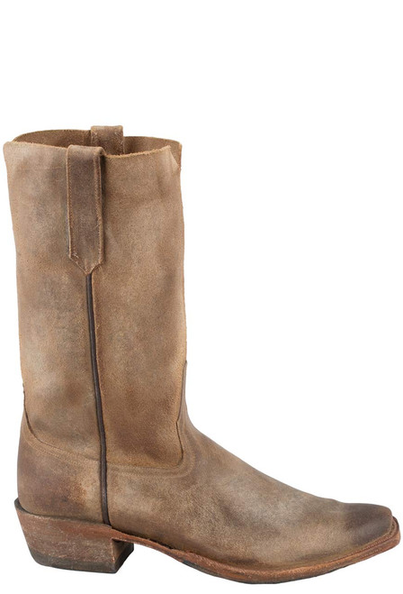 Rios of Mercedes Men's Sahara Suede Boots - Side