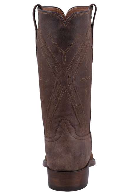Rios of Mercedes Men's Chocolate Mad Cat Goat Boots - Back