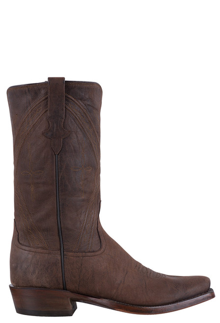 Rios of Mercedes Men's Chocolate Mad Cat Goat Boots - Side