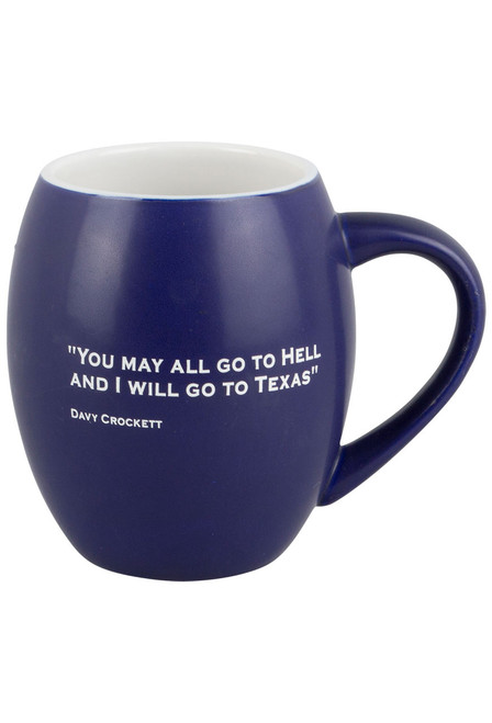 Gift - You May All Go Mug - Back