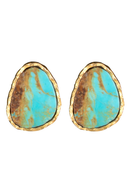 Christina Greene Turquoise Earring and Necklace Gift Set - Earring
