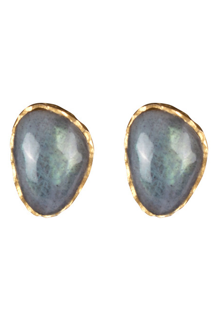 Christina Greene Labradorite Earring and Necklace Gift Set - Earring