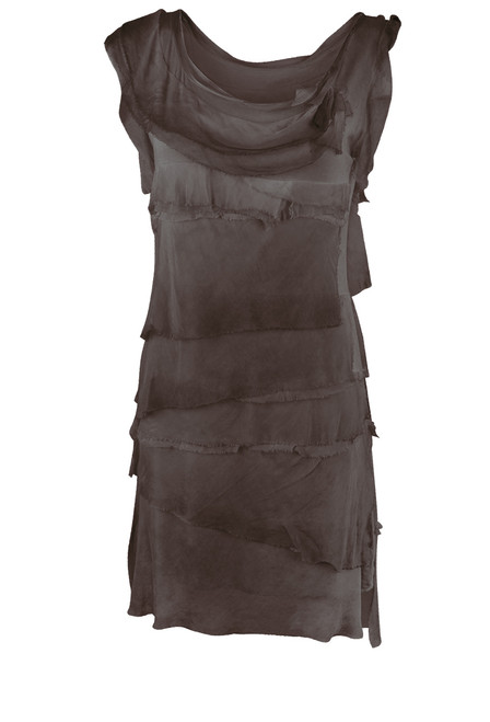 Gigi Sleeveless Short Ruffle Dress