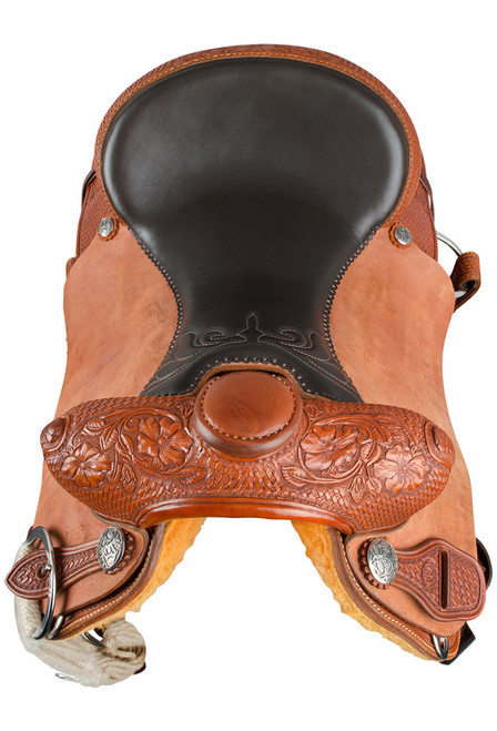 Pinto Ranch Will James Ranch Roper Western Saddle - Front