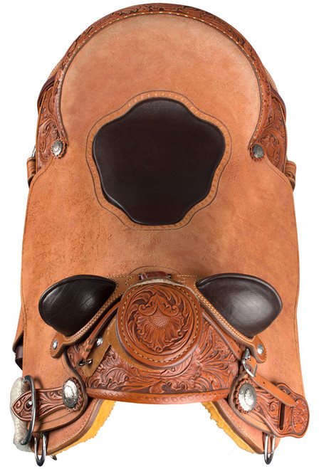 Pinto Ranch Ray Hunt Wade Western Saddle - Front