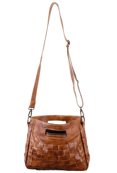Bed Stu Orchid Bag - Cognac - Lace