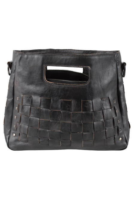 Bed Stu Orchid Bag - Black - Front