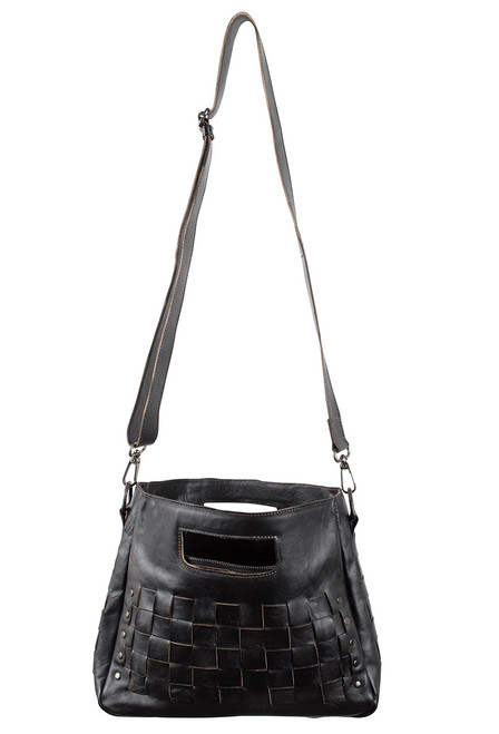 Bed Stu Orchid Bag - Black - Lace