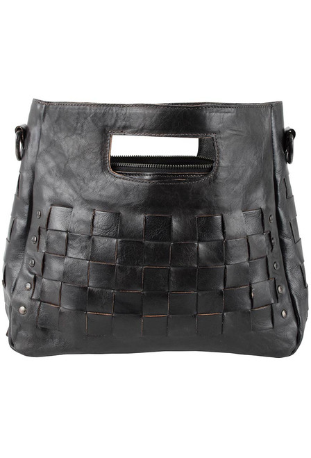 Bed Stu Orchid Bag - Black - Back