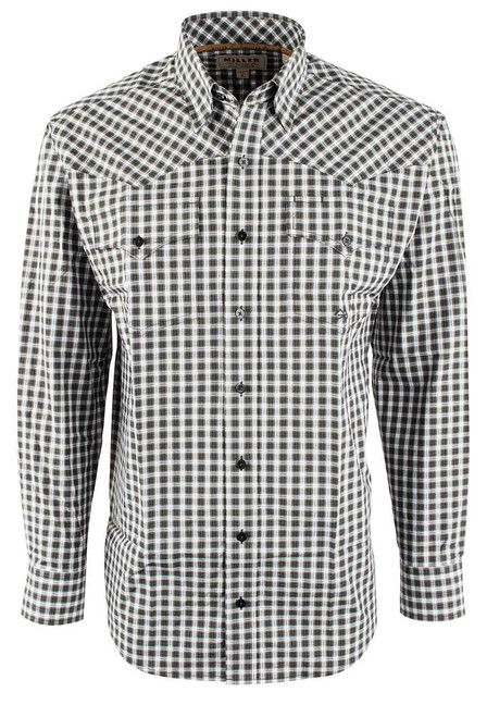Miller Ranch Black Check Shirt - Front