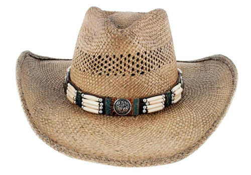 Bullhide From Dusk Till Dawn Straw Hat - Front