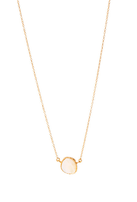 Christina Greene Mother of Pearl Delicate Necklace