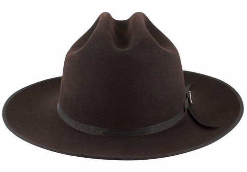 Stetson 6X Open Road Felt Hat - Chocolate - Front