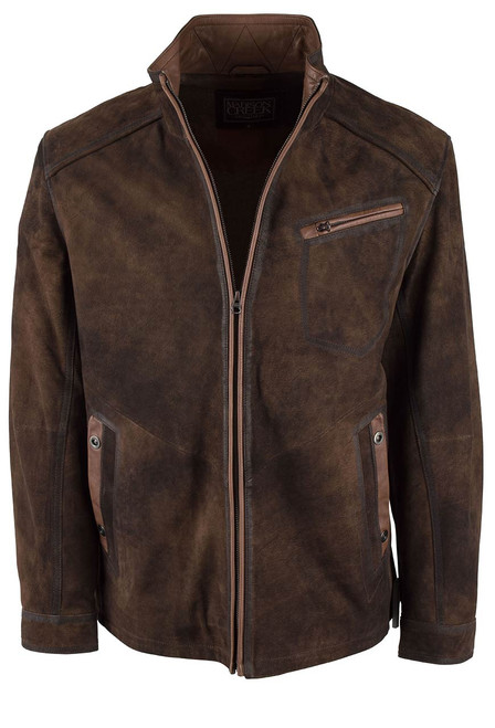 Madison Creek Durango Jungle Suede Jacket - Front