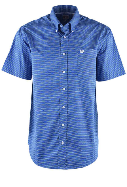 Cinch Blue Diamond Sport Shirt - Front