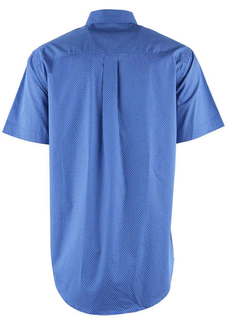 Cinch Blue Diamond Sport Shirt - Back