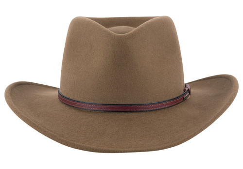Stetson Bozeman Outdoor Hat - Brown - Front