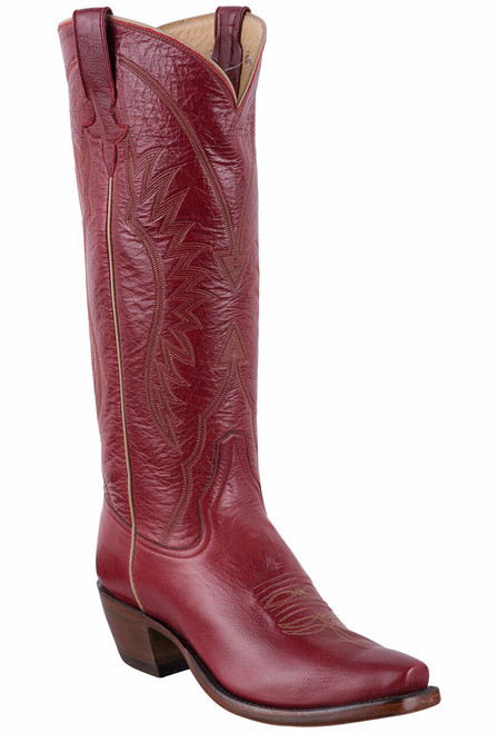 Rios of Mercedes Deep Red Milan Cowgirl Boots