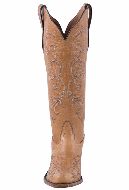 Tony Lama Signature Series Women's Mont Blanc Sycamore Scroll Boots  - Front