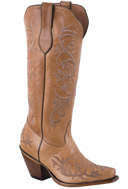 Tony Lama Signature Series Women's Mont Blanc Sycamore Scroll Boots