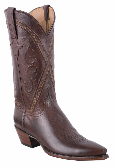 Lucchese Women's Whiskey Baby Buffalo Cowgirl Boots