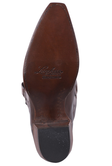 Lucchese Women's Whiskey Baby Buffalo Cowgirl Boots - Sole