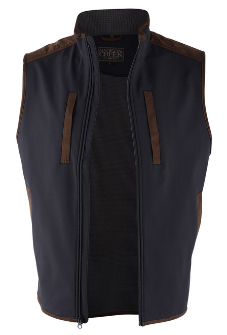 Madison Creek Black Pagosa Vest - Open
