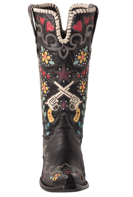 Old Gringo Double D Ranch Cowgirl Bandit Boots - Front