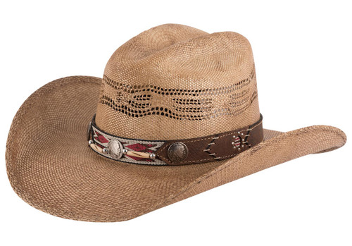 Bullhide Trailblazer Straw Hat- Back
