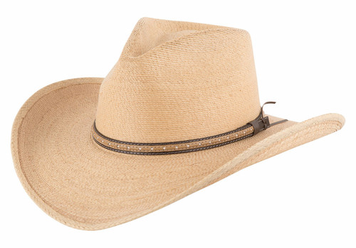 Stetson Sawmill Toasted Palm Straw Hat - Side