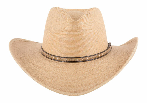 Stetson Sawmill Toasted Palm Straw Hat - Front
