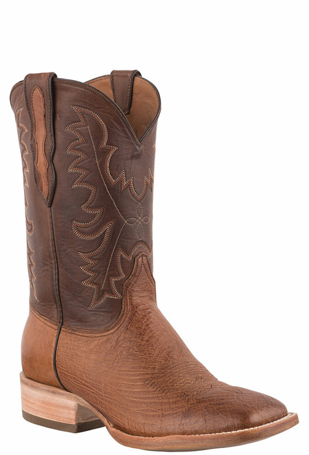Black Jack Exclusive Burnished Cigar Smooth Ostrich Boots