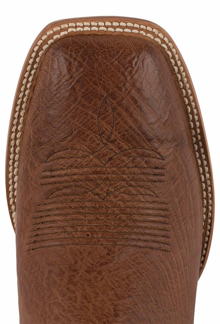 Black Jack Exclusive Burnished Cigar Smooth Ostrich Boots - Toe