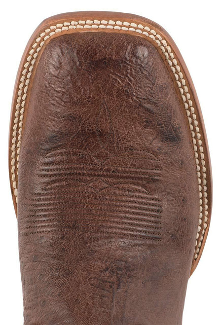 Black Jack Exclusive Kango Bruciato Smooth Ostrich Boots - Toe