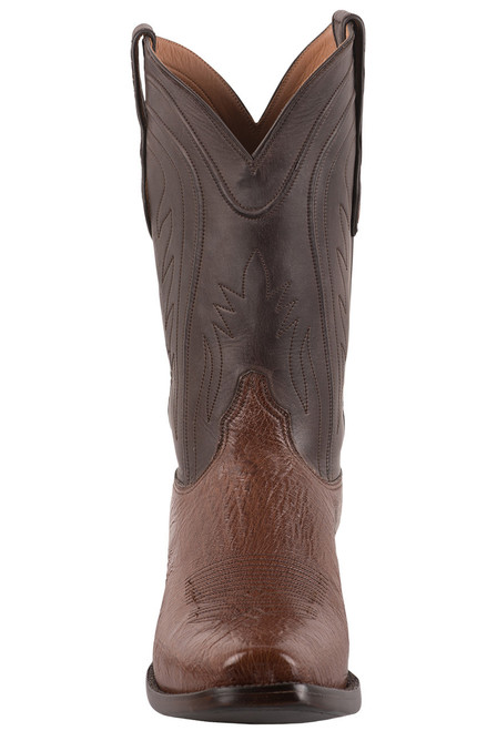 Black Jack Exclusive Kango CC Smooth Ostrich Boots - Front