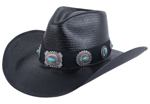 Bullhide A Night to Shine Straw Hat - Front