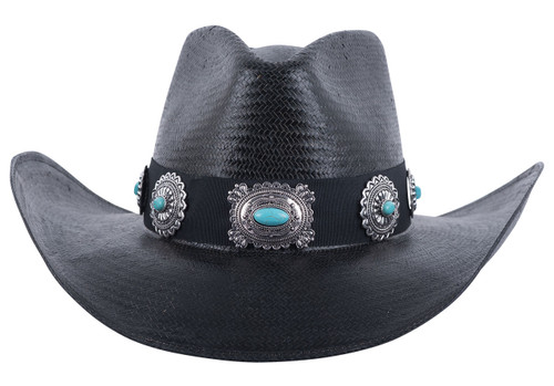 Bullhide A Night to Shine Straw Hat - Back
