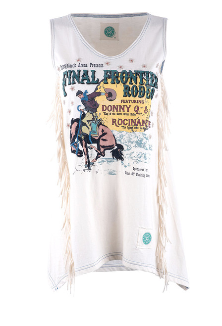 Double D Ranch Final Frontier Rodeo Tank Top - Front
